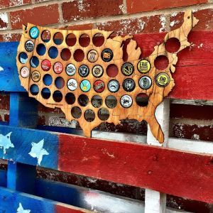 Beer Cap Map