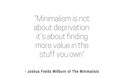 How to Shop for a Minimalist