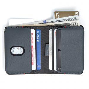 Urban Bi-fold Wallet fully loaded