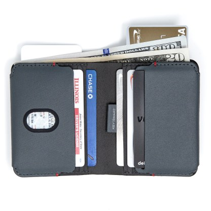 Urban Bi-fold Wallet fully loaded