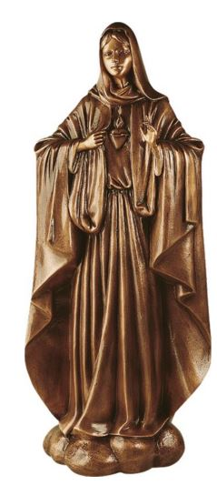Bronze Madonna Statue