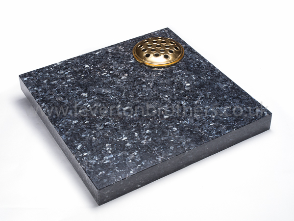 Blue Pearl Cremation Plaque