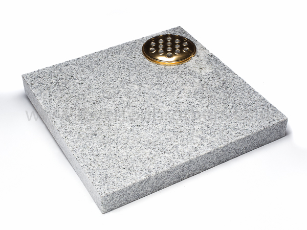 Light Grey Granite Memorial Plaques