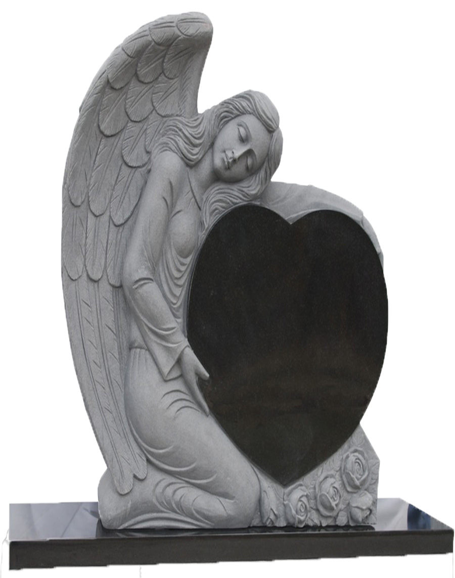 Black Granite Angel