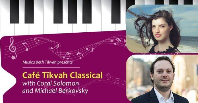 Coral Solomon și Michael Berkovsky's în recital