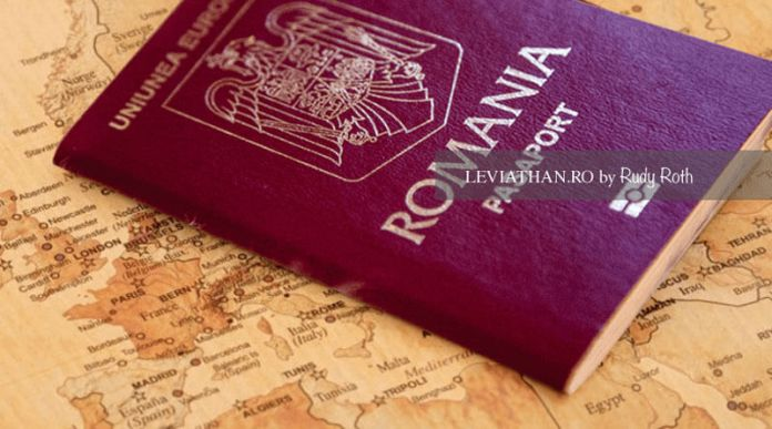 Pasaport romanesc - diaspora