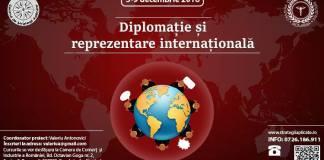 Curs intensiv de Diplomaţie şi reprezentare internaţională