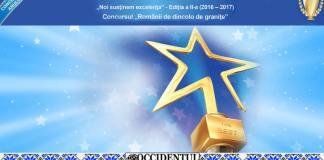 Occidentul Românesc - Campania Noi Susținem Excelenta 2016-2017