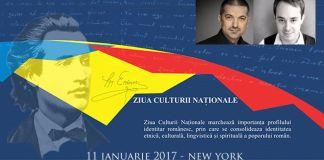 Ziua Culturii Nationale 15 ianuarie New York