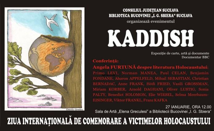 kaddish comemorare victime holocaust