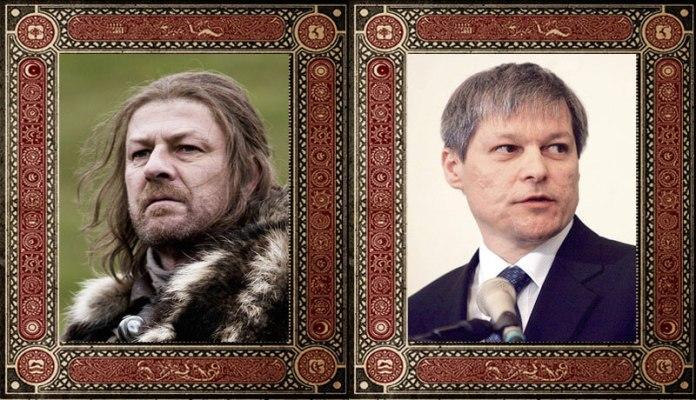 Eddad Ned Stark Dacian Ciolos Game of Thrones Politicieni Romani
