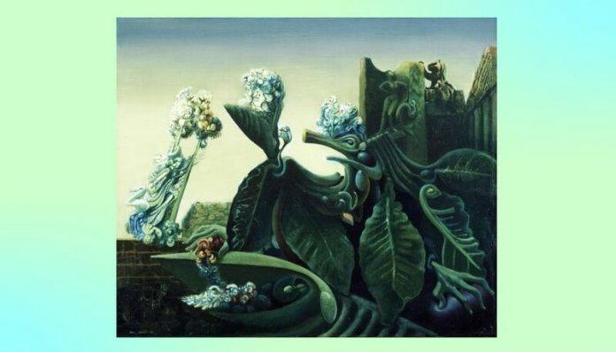Max Ernst Nimfa Echo 1936 cronica literara leviathan.ro