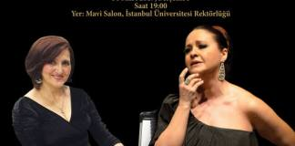 Recital Otilia Rădulescu Ipek (soprano) şi Terane Abbaszade (piano) la Istanbul