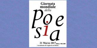 giornata mondiale della poesia roma 2017