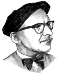 Tudor Arghezi - desen