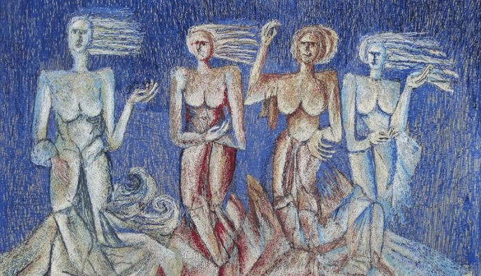 nicolae zimbroianu expozitie personala arte decorative textile