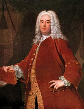 Georg Friedrich Händel Thomas Hudson, c. 1736