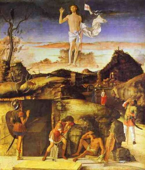 GiovanniBellini The Resurrection 1475