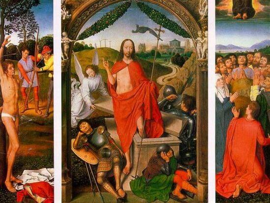 Hans Memling Invierea 1490