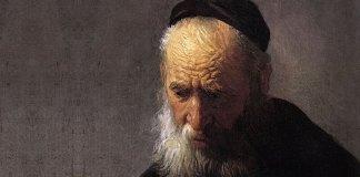Rembrandt Portretul unui batran