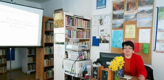 Biblioteca Ion Ghelu Destelnica aniversare