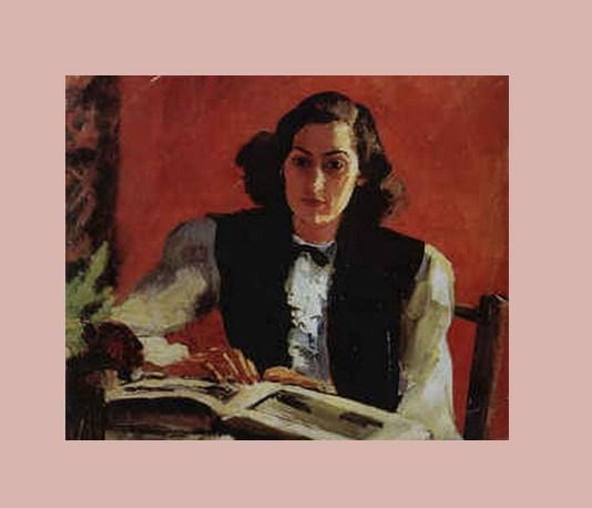 Mariana Dumitrescu, portret de Al. Ciucurencu