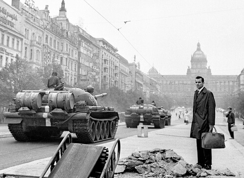 August 1968, Prague. Photo Vladimir Lammer
