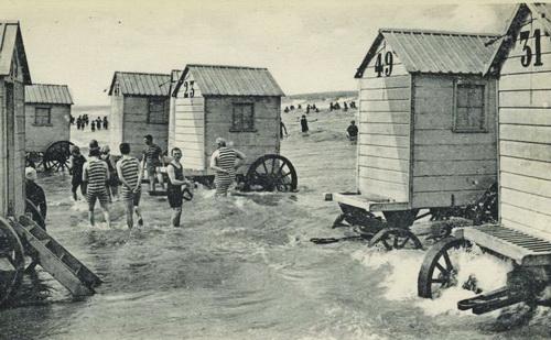 Cabine de baie la Ostende