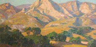 "Franz Bischoff (1864–1929), ""Muntele Santa Barbara"", seara"