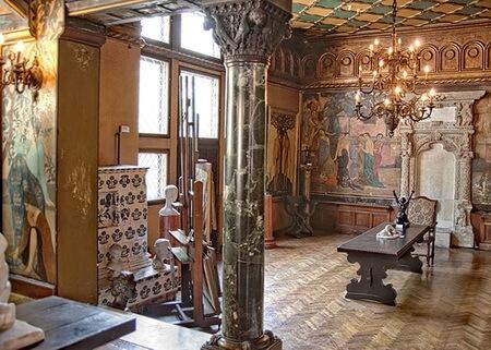 Imagine din Muzeul Frederic Storck și Cecilia Cuțescu-Storck