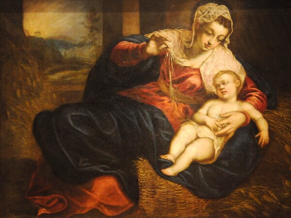 Madonna and Child - Jacopo Robusti (Tintoretto)
