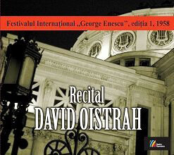 cd recital David Oistrah casa radio