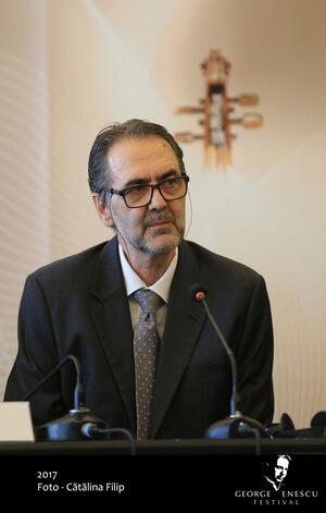 """Mihai Constantinescu, director executiv al Festivalului """"Enescu. Foto Cătălina Filip"""