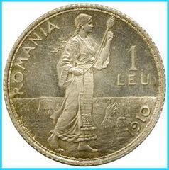 moneda-1-leu-1910