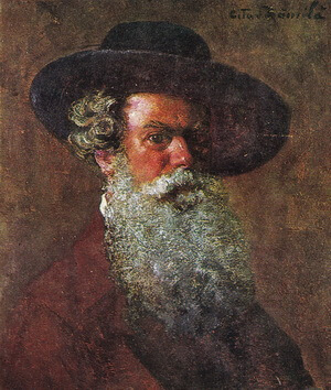 "Octav Băncila, ""Autoportret"""