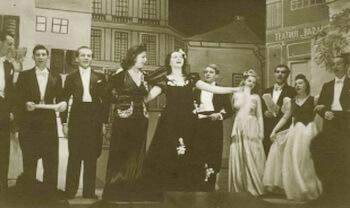 Fotografie din arhiva Teatrului Evreiesc de Stat din București