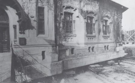 Translarea Palatului Sinodal al Mănăstirii Antim