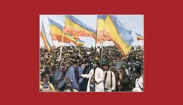 Participanţi la Marea Adunare Naţională de la Alba Iulia