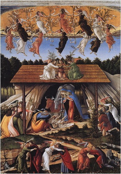 botticelli nativita 1500