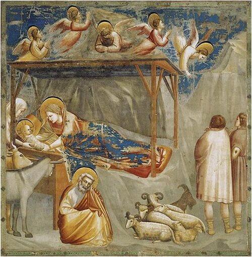 giotto nativita capella degli scrovegni padova 1303 1305