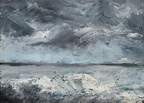 """August Strindberg, """"Blocuri de gheață"""" la țărm, 1982"""