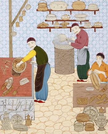 Bucătăria otomană, secolul al XVI -lea
