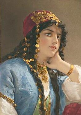 Odaliscă din Imperiul Otoman