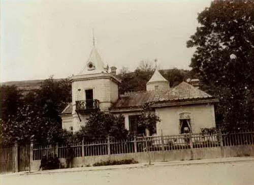 Vila de Lapomeraye. Sursa foto Slatina de altădată