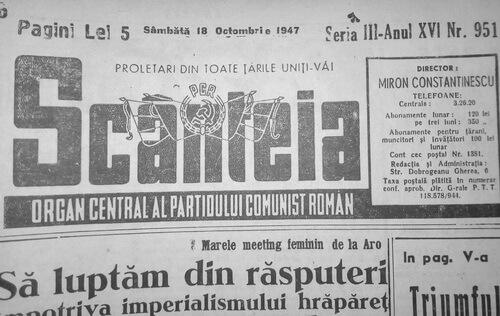 ziarul scainteia 1947