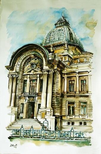 """074. Aneta Filip, """"Palatul CEC București"""