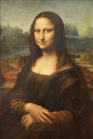 """Leonardo da Vinci (1452, Vinci–1519), """"Mona Lisa"""" (""""Gioconda"""")"""