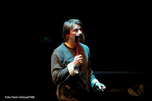 """Marius Manole în """"Viforul"""". Foto Florin Ghioca"""