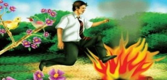 """Sărbătoarea """"Nevruz"""" la turci – Sărind peste foc"""