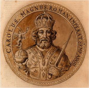charlemagne împăratul Carol cel Mare